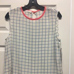 NWT Equipment Sleeveless Blouse